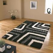 Black White Grey Rug