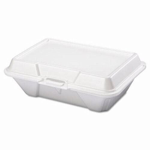 Deep Foam Hinged Carryout Containers, 200 Containers (GNP 20500)