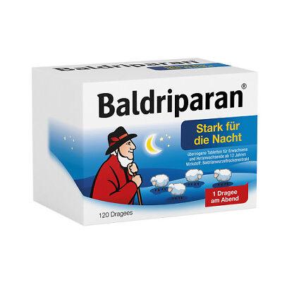 BALDRIPARAN Stark für die Nacht überzogene Tab. 120St PZN 01819245