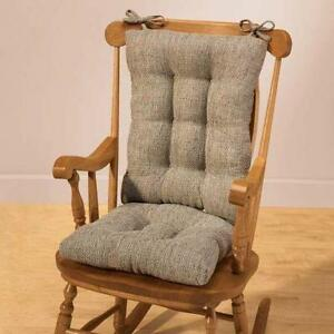 rocking chair cushions nursery modern glider ebay