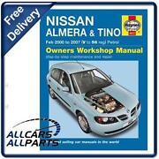 Nissan Almera Haynes Manual