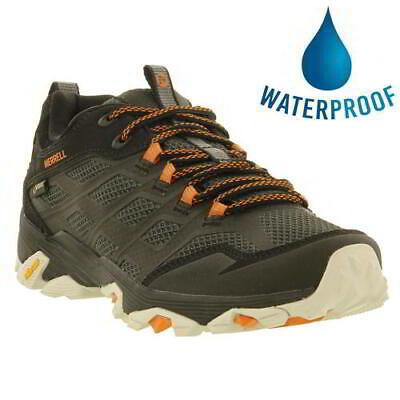 Merrell Moab FST GTX Gore-Tex Waterproof Mens Walking Trainers Shoes Size (Merrell Moab Gore Tex Waterproof Walking Shoes)