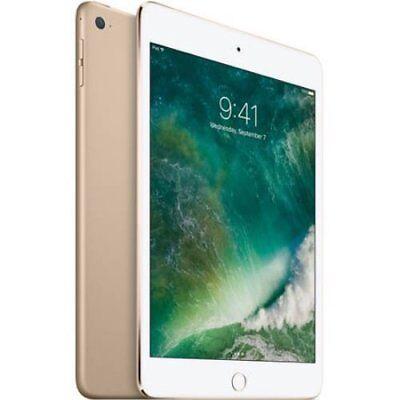 Apple iPad Mini 4 128GB Gold Wi-Fi MK9Q2LL/A