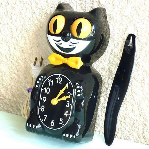 Antique Cat Clock With Moving Eyes Best 2000 Antique