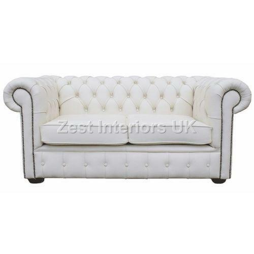 White Chesterfield Sofas Ebay