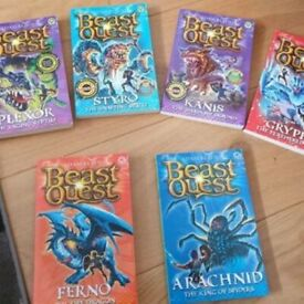 Beast Quest series last few