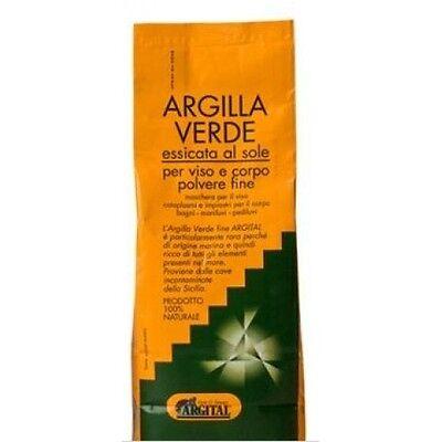 Argilla Verde Polvere Fine Viso/Corpo-Artrite,Acne,Forfora, Infiammazioni-2,5 Kg