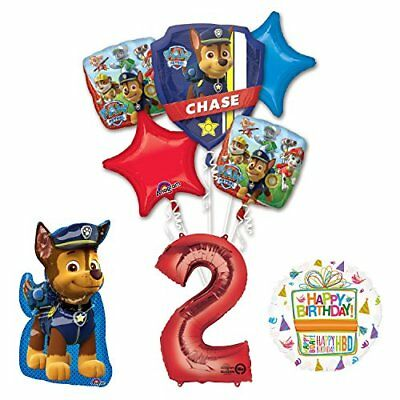 Paw Patrol Decorations (The Ultimate Paw Patrol 2nd Birthday Party Supplies and Balloon)