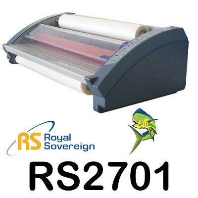 Royal Sovereign Rsl-2701 27 Table Top Hot Cold Roll Laminator Posters Menus