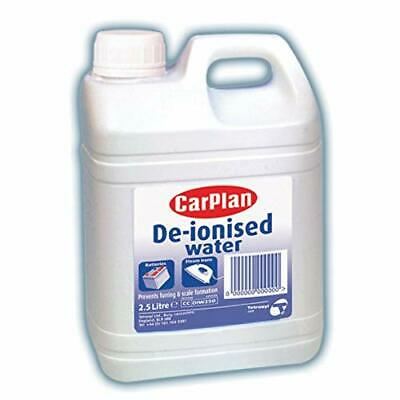 NEW Carplan De-Ionised Car Battery Radiator Water 2.5L