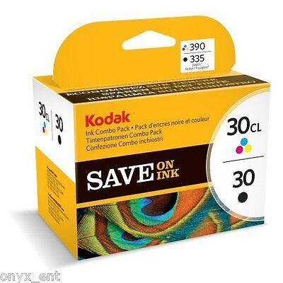 Genuine Kodak 30B 30CL Combo Pack Black & Colour  Ink Cartridge 8039745 open Box