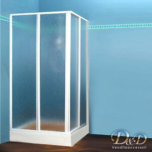 Cabina box doccia in acrilico 70x120 80x120 70x100 80x110 for Finestra 70x100
