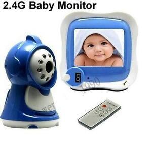 video baby monitor ebay. Black Bedroom Furniture Sets. Home Design Ideas
