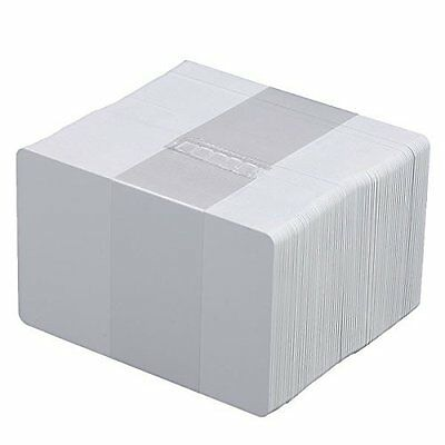 - 50 CR80 30Mil White Blank PVC Plastic Cards for Photo ID card Printers