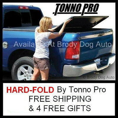 1982-2013 FORD RANGER SHORT 6FT TRI HARD-FOLD Tonneau Bed Cover Tonno Pro HF-354