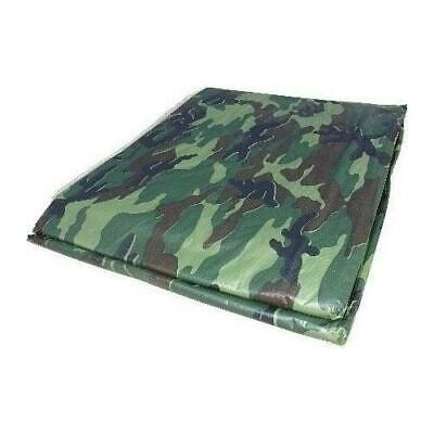 8 X 10 Camouflage Poly Tarp Cover Tent Shelter Camping Rv Boat Tarpaulin
