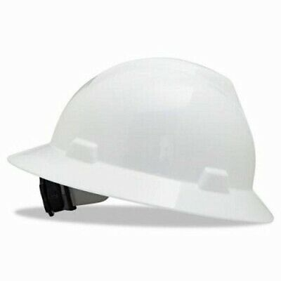 Msa V-gard Hard Hats Wratchet Suspension Size 6 12 - 8 White Msa 475369