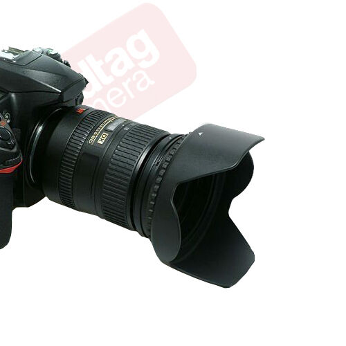 52mm Hard Tulip Shaped Lens Hood For Nikon 18-55mm AF-S, 55-200mm, 50mm f/1.8D
