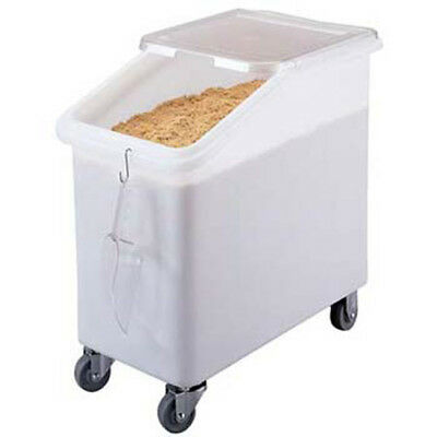 Cambro Ibs27 Cambro Mobile Ingredient Bin - Slant Top - 27 Gal. Capacity - Ibs27