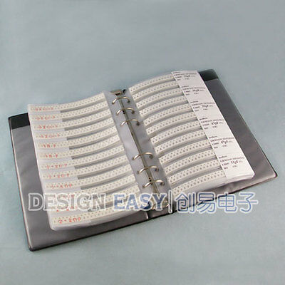 0805 Smd Capacitor Kit 92valuesx48pcs Smt Pack Box Book