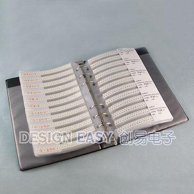 0805 Smd Capacitor Kit 92valuesx48pcs Smt Pack Box Book
