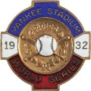 World Series Press Pin