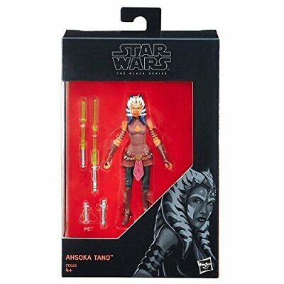 STAR WARS Ahsoka Tano BLACK SERIES COLLECTION CLONE WARS MANDALORIAN REBELS 3.75
