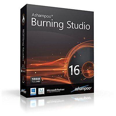 Ashampoo Burning Studio 16 dt.Vollvers.lifetime Download 11,99 statt 49,99 EUR !