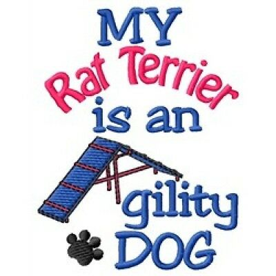 My Rat Terrier is An Agility Dog Long-Sleeved T-Shirt DC1970L Size S - XXL