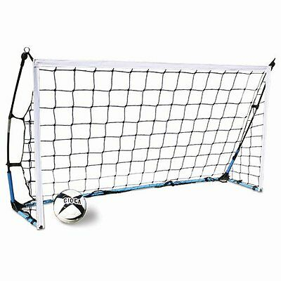 PAIR of ALPHA Gear 2.0m x 1.0m FLEX Portable Goal