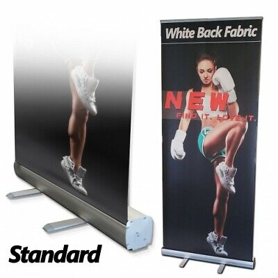 6 Pcs48 X 80retractable Roll Up Banner Stand Trade Show Pop Up Display Stand