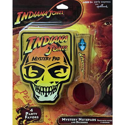 INDIANA JONES Crystal Skull MYSTERY NOTEBOOKS (4) ~ Birthday Party Supplies Toys](Skull Party Supplies)