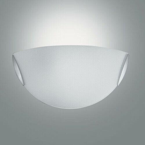 Wandleuchte E14 Glas IP41 Schlicht weiss Zeitlos dimmbar