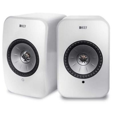 KEF LSX wireless WHITE sistema altoparlanti attivi hifi multiroom bluetooth e wi