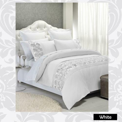 Comforter Silvers: Silver Bedding