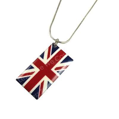Gran Bretaña Union Jack Bandera Real Boda Collar Perro Placa Joyería Accesorio