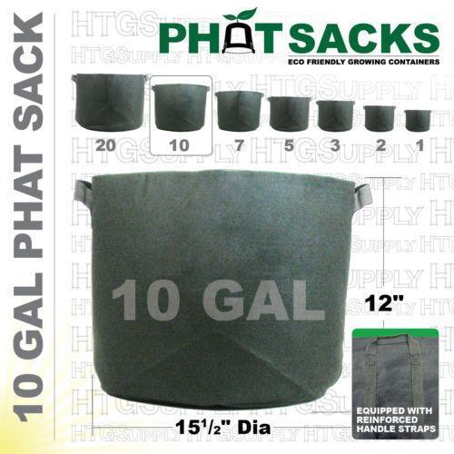 10 gallon grow bags ebay. Black Bedroom Furniture Sets. Home Design Ideas