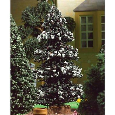 12th Scale Snowy Pine Tree For Dolls House Christmas Tree