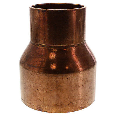 1-12 X 1-14 Coupling Reducer C X C Sweat Ends Copper Pipe Fitting