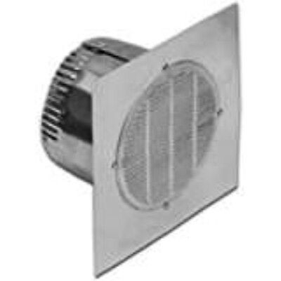Lambro Industries 142 Aluminum Bath Fan Vent 4-inch
