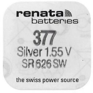 Renata-Watch-Batteries-Swiss-Made-Cell-Button-Silv-Oxide-1-55v-377-SR626SW-AG-4