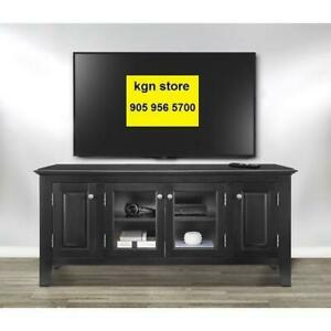 *in box* *no tax* Insignia 60 TV Stand - Black