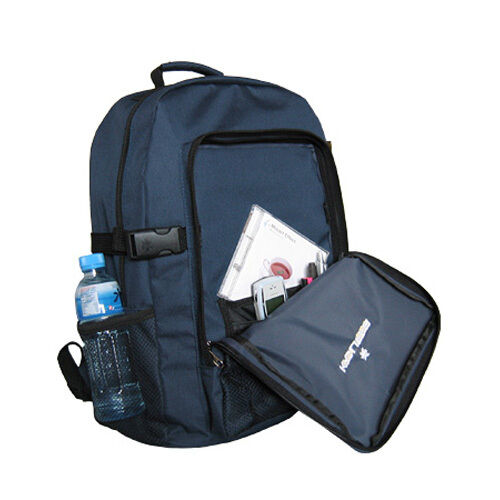 "NEW Large 19"" K-Cliffs Extra Durable Backpack Navy school camping padded NWT"