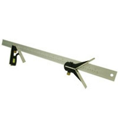 24 Long Combination Try Square Sliding Ruler Angle Tool Rule Combo