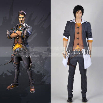 Borderlands 2 Adult Men's Outfit Custom Made Halloween Costume Cosplay (Borderlands 2 Halloween)