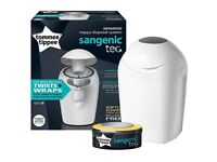 Tommee Tippee Sangenic Tec Nappy Disposal Tub (White)