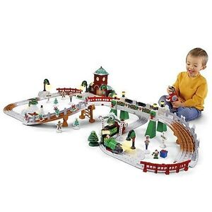 Fisher-Price GeoTrax Christmas Train Christmas in Toytown Train - Parts/Repair