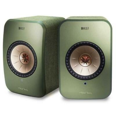 KEF LSX wireless GREEN - SIGNATURE sistema altoparlanti attivi hifi multiroom bl