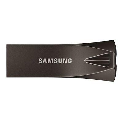 Samsung BAR Plus 64GB - 200MB/s USB 3.1 Flash Drive Titan Gr