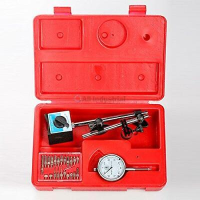 Dial Indicator Set Test .001 With Onoff Magnetic Base Supply